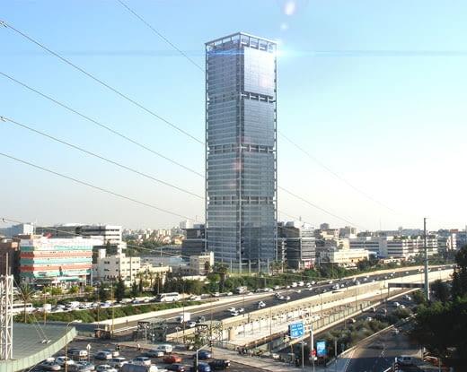 Elco International Tower, proj. Moore Yaski Sivan Architects, 2011