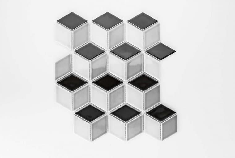 Mozaika ceramiczna, Diamond, kolekcja Modern, Raw Decor, rawdecor.pl