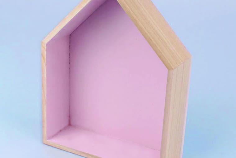 W stylu tego wnętrza: Półka, drewno, 18 x 6 cm, wys. 21 cm bonami.pl, 33 zł