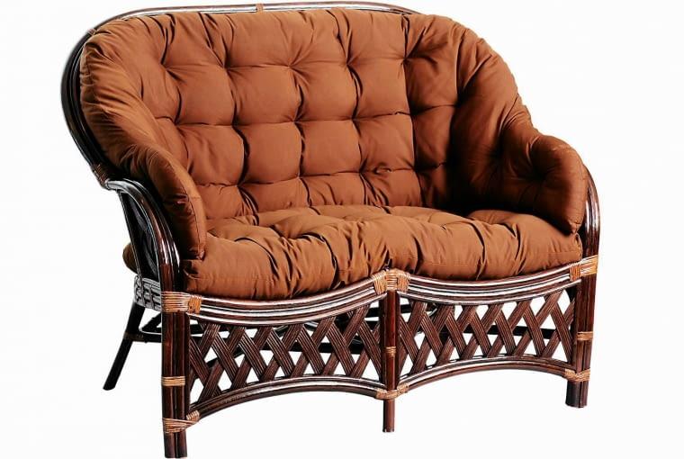 Sofa DIEGO, rattan, 127 x 79 cm, 1399 zł/zestaw ze stolikiem i dwoma fotelami homegarden.com.pl