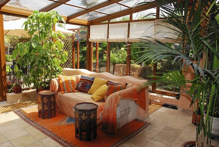 Ogrody zimowe - ogrzewana oranżeria