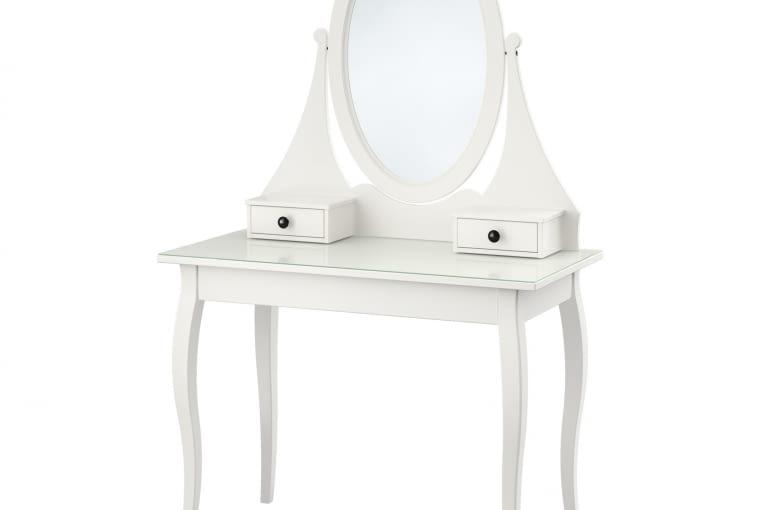 W stylu tego wnętrza: toaletka Hemnes, IKEA, cena: 599 zł