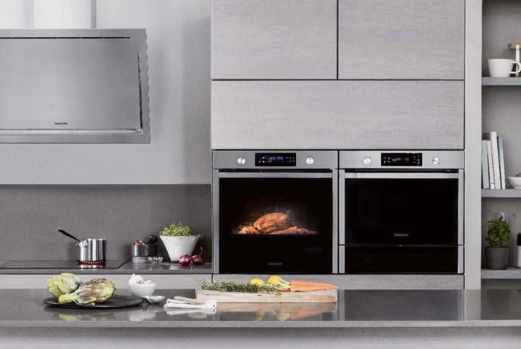 Piekarnik Dual Cook Flex, klasa A+, dwie niezależne komory pieczenia. 2499 zł. Samsung