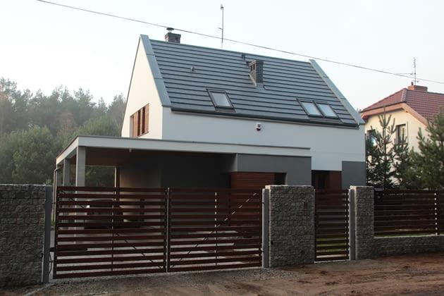 dom jednorodzinny, realizacje domów, domy zdjęcia