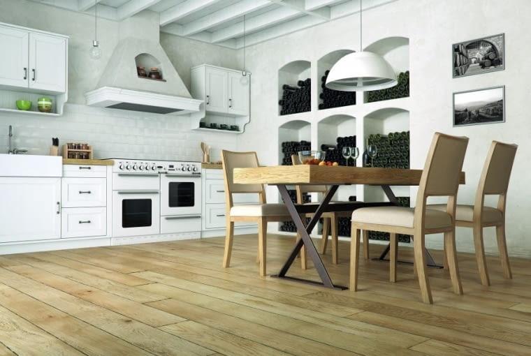 Drewniana podłoga. Na zdjęciu: deska warstwowa Sommelier, Jean Marc Artisan