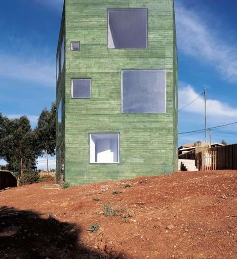 Dom w San Pedro w Chile, projekt: Pezo von Ellrichshausen Architects