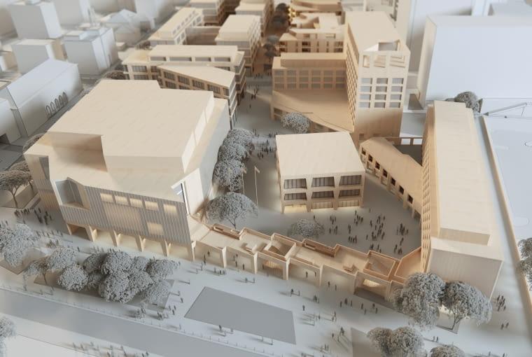 JEMS ARCHITEKCI - zwycięska koncepcja na zabudowę terenu przy Nabrzeżu Prezydenta w Gdyni