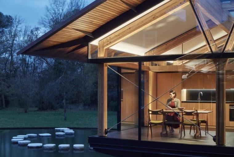 'Stepping Stone House' w Wielkiej Brytanii, projekt: Hamish & Lyons