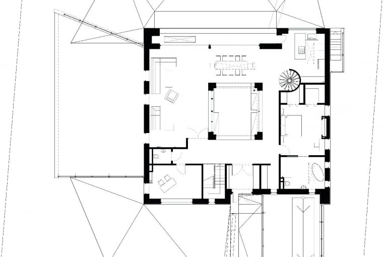 Plany budynku: Parter