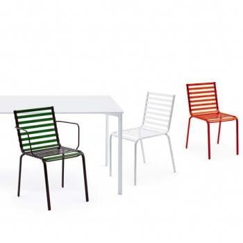 Striped Chair; projekt: bracia Bouroullec dla Magis