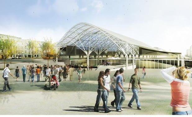 Nowy projekt dworca w Łodzi