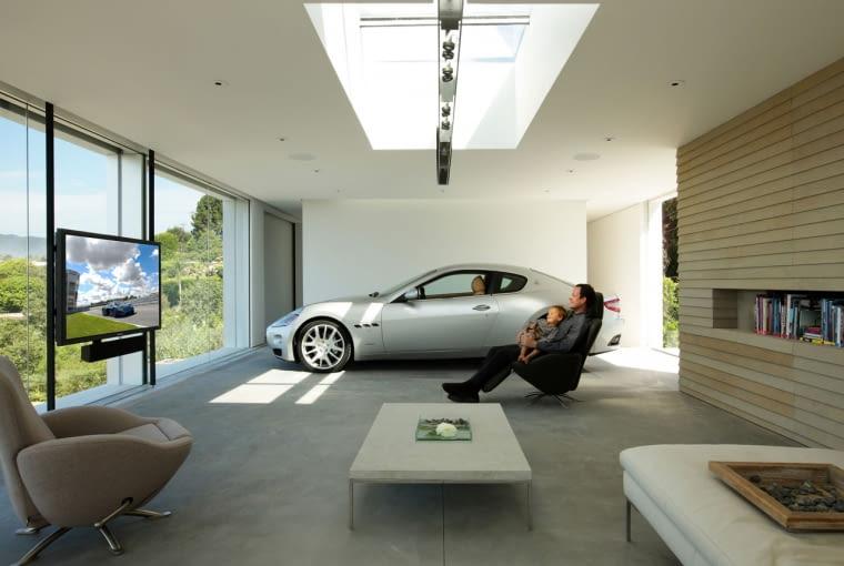 konkurs, garaż, ciekawostki, nagroda, usa, dom jednorodzinny, samochód, Archisis Design and Architecture