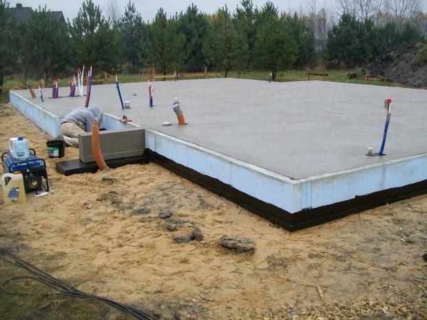 płyta fundamentowa, ile kosztują fundamenty, koszty budowy