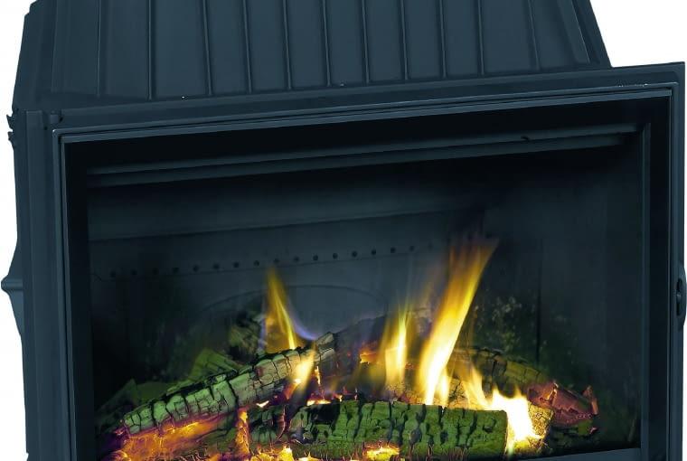 Kominki z DGP 2180 CBS/DOVRE; moc 15kW materiał: żeliwo; Cena: 6035 zł