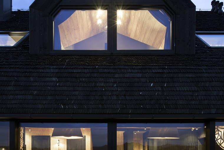 Dom letniskowy w Pieninach - połączenie tradycji pasterskiej chaty z nowoczesną formą