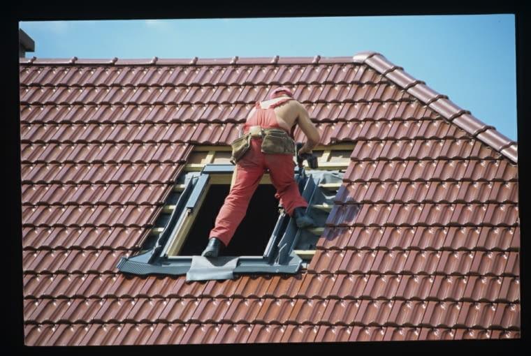 okna dachowe, pokrycie dachowe