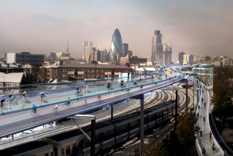 SkyCycle, Londyn, Foster + Partners