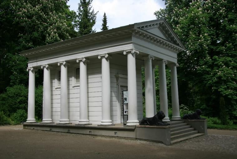 Widok ogólny na Świątynię Sybilli