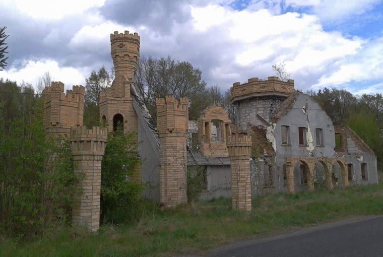 Zamek, który upadł zanim powstał, Rytwiny, woj. lubuskie