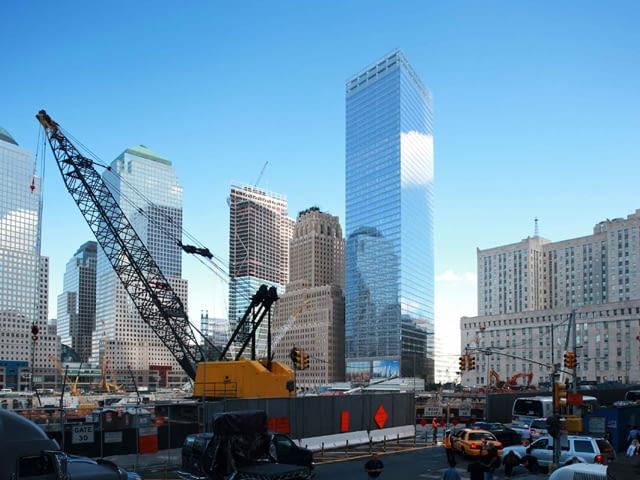 budowa, projekt, architektura, ekologia, wieżowce, nowy jork, wieżowiec, usa, skidmore owings and merill, manhattanie, budynek