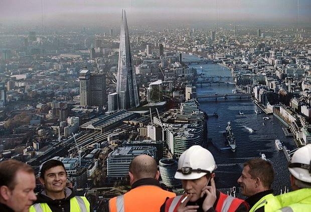 Wieżowiec Shard w Londynie, proj. Renzo Piano