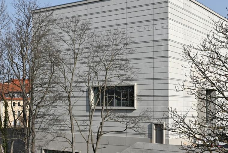 Muzeum Bauhausu w Weimarze. Proj. Heike Hanada.