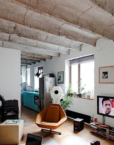 małe mieszkanie, mieszkanie w stylu loft, kawalerka, jak urządzić małe mieszkanie