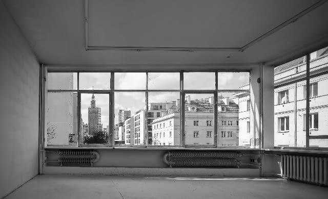 Budynek Fundacji Galerii Foksal przed przebudową