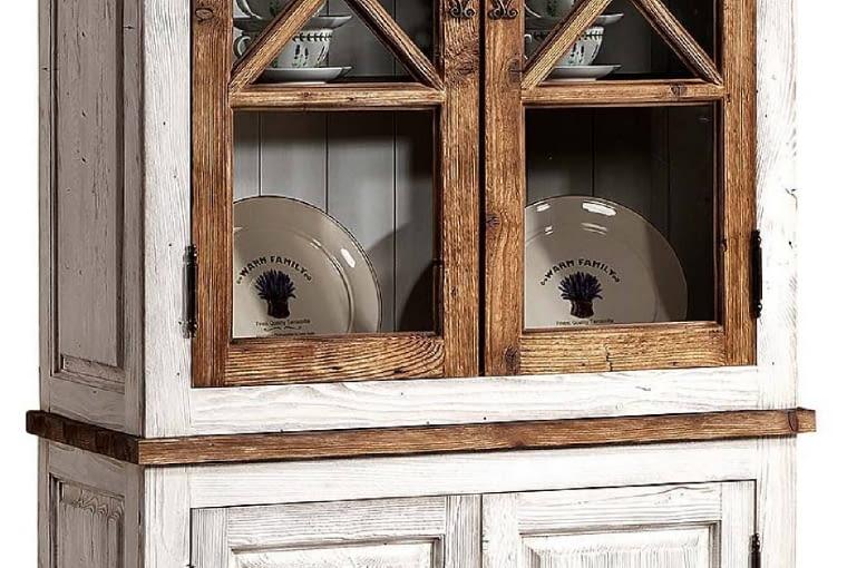 Witryna PROVANCE, drewno, 98 x 44 cm, wys. 204 cm, 2299 zł, Agata