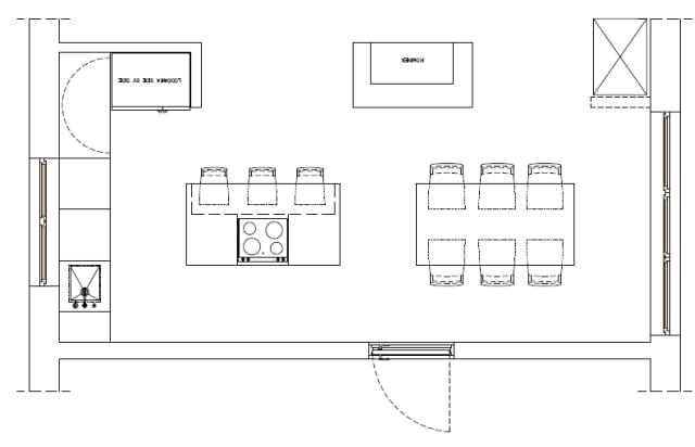 Kuchnia - plan