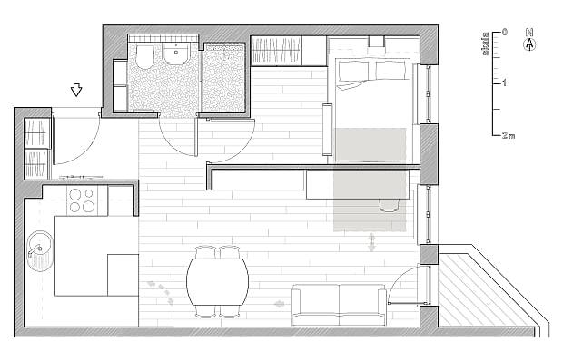 mieszkanie we Wrocławiu, modne mieszkanie, nowoczesne mieszkanie