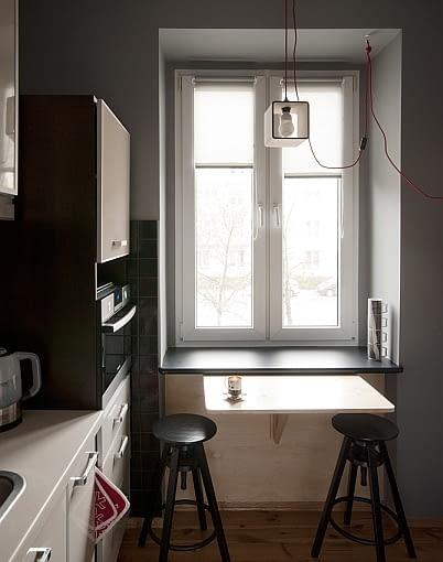 małe mieszkanie, mieszkanie w kamienicy, nowoczesne mieszkanie, jak urządzić mieszkanie