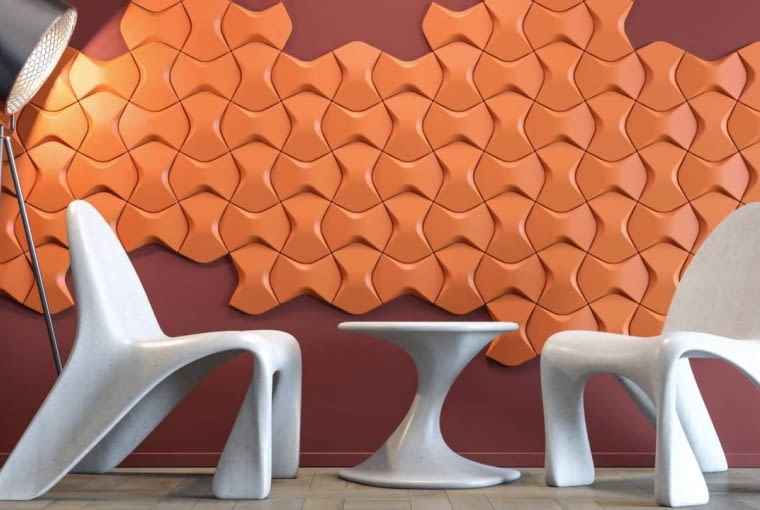 Panele dekoracyjne ARSTYL, porducent: NMC. Projekt: Mac Stopa/Massive design