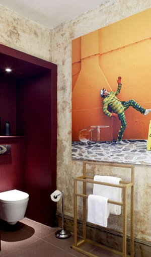 wnętrza hotelu Rough Luxe w Londynie