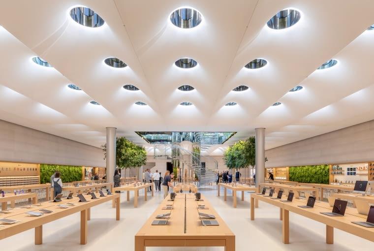 Sklep Apple na Manhattanie