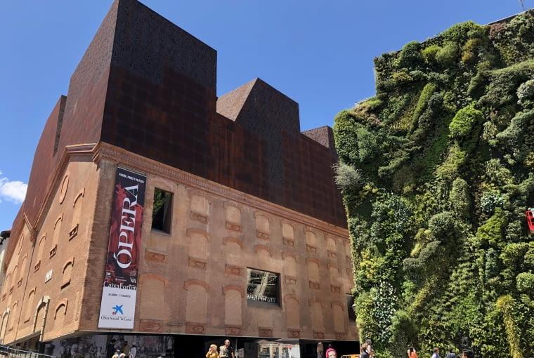 Caixa Forum w Madrycie. Proj. Herzog & de Meuron