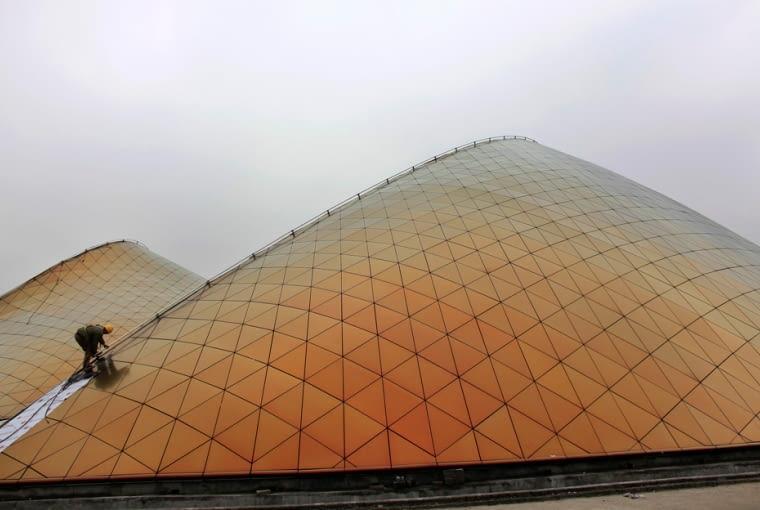 Expo 2010, Pawilon Zjednoczonych Emiratów Arabskich, proj. Norman Foster