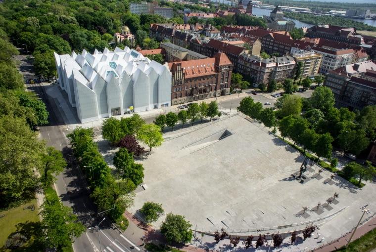 Centrum Dialogu Przełomy w Szczecinie wg projektu Roberta Koniecznego