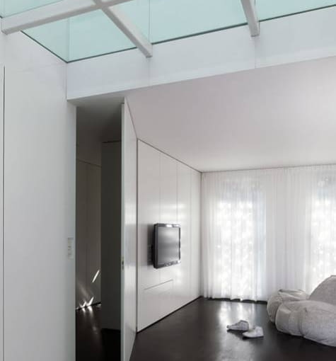 dmvA Architecten, house s, dom, dom jednorodzinny