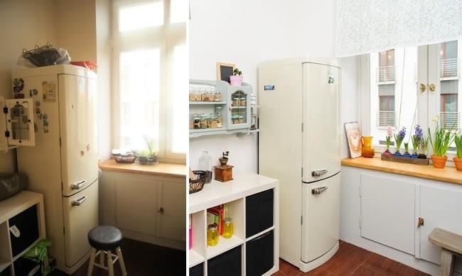 aranżacja kuchni, malowanie mebli kuchennych