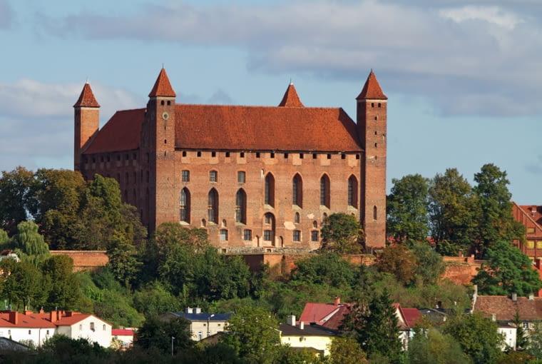 gniew, zamek w gniewie, zamek, polska