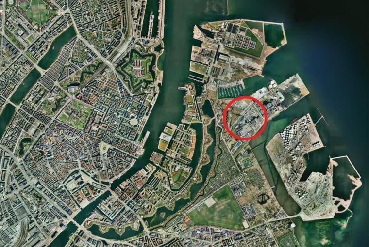 Amager Resource Center w Kopenhadze. Proj. BIG