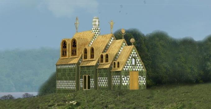 Projekt domu dla Living Architecture autorstwa pracowni FAT