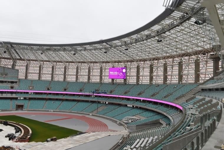 Baku Olympic Stadium, Baku - Azerbejdżan (VII nagroda w głosowaniu internautów, VIII nagroda w głosowaniu jury) - Za ostateczny projekt stadionu odpowiada firma Heerim Architects and Planners. Ciekawostką jest, że ze względu na napięty harmonogram prace budowlane rozpoczęto jeszcze przed zakończeniem prac projektowych...
