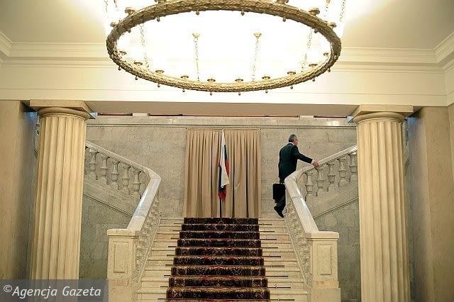 Socrealizm - architektura socrealistyczna - Ambasada Rosji - wnętrza
