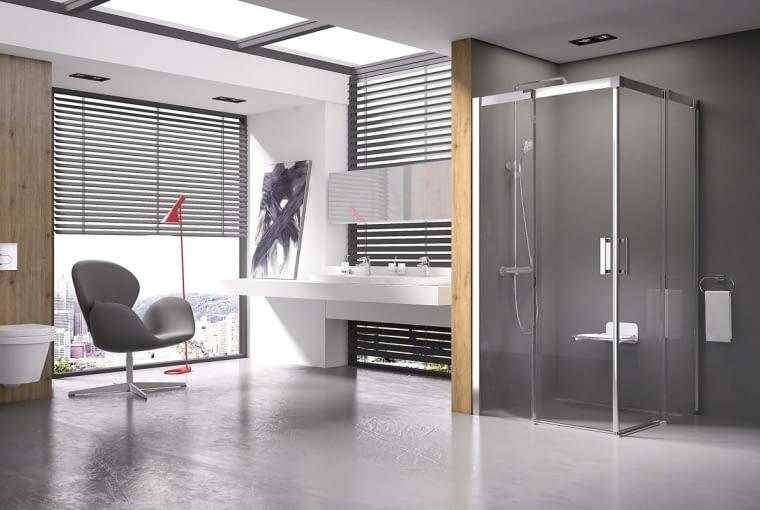Kabina MATRIX M DPS, szkło, 98, 5 x 78,5 cm, 3398 zł, Ravak