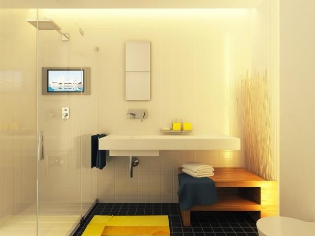 małe mieszkanie, kawalerka, mieszkanie w jasnych kolorach, jak urządzić małe mieszkanie, jak powiększyć małe mieszkanie