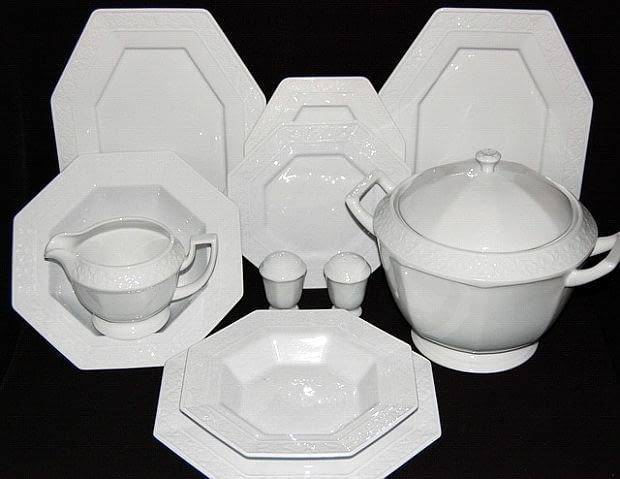 Serwis obiadowy Laura, porcelana