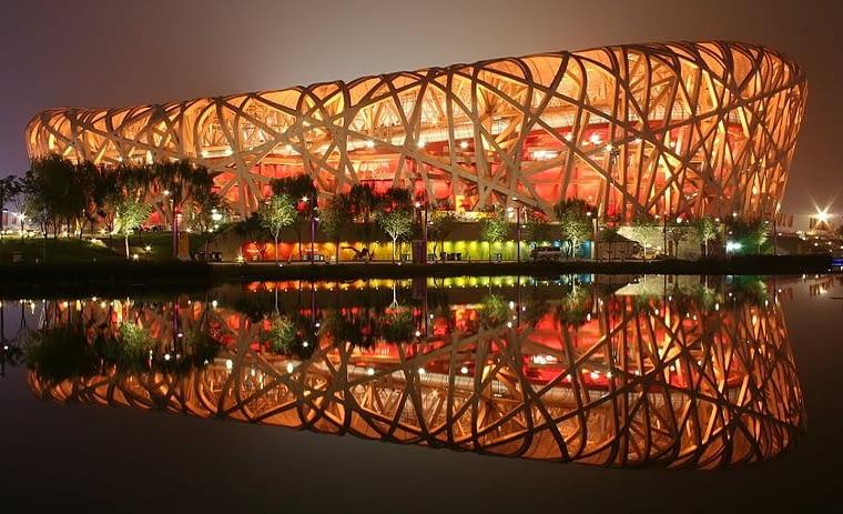 Stadion Olimpijski w Pekinie, tzw. Ptasie Gniazdo, 2008, proj. Herzog & deMeuron