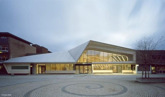 Biblioteka miejska w Vennesla, Norwegia, proj. Helen & Hard, 2011